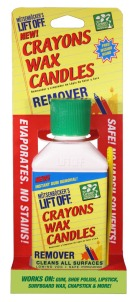 Crayons Wax & Candles Remover