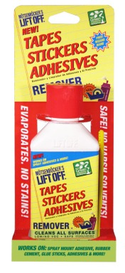 Tapes Stickers Adhesives Remover