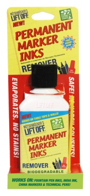 Permanent Marker Inks Remover