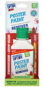 Poster Paint Remover